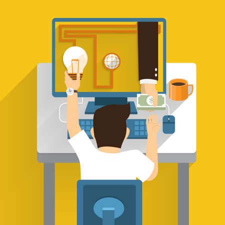 Exchange idea money from online marketing