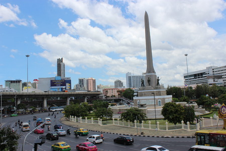 Victory Monument, Bangkok city Thailand