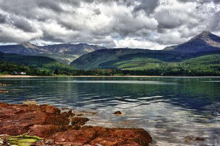 Scenery of the Isle of Arran in Scotland