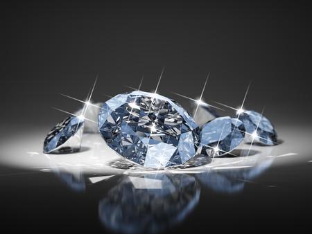Diamond in focus