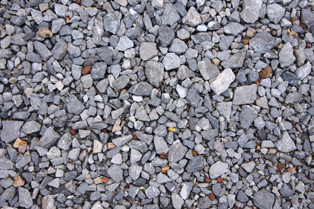 Crushed gravel as texture or background.