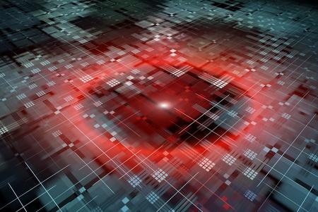 Photo pour Abstract technology background - image libre de droit