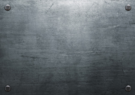 Photo for Metal background with rivets - Royalty Free Image