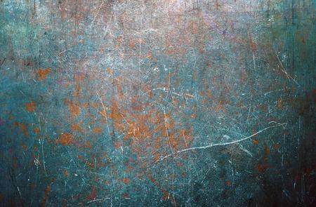Worn metal surface