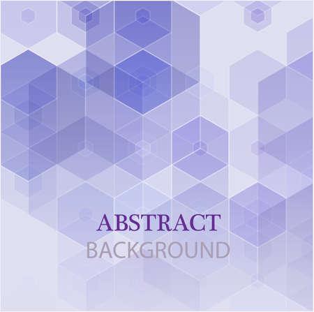 Illustration pour Vector Abstract geometric background. Template brochure design. - image libre de droit
