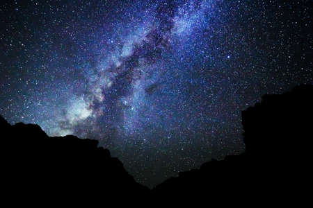 Photo for Stars in the Night Sky, Milky Way Galaxy - Royalty Free Image