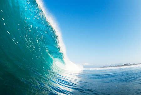 Tropical Blue Ocean Wave