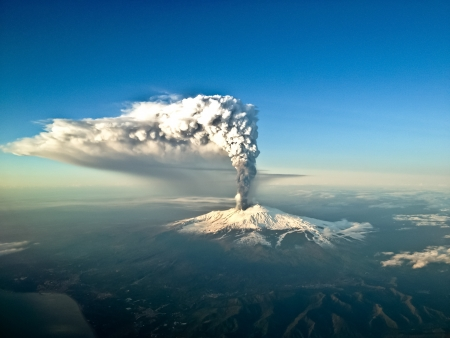 etna eruption view