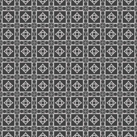 Illustration pour Beautiful Seamless Lace Geometric Ornament Vector Illustration. Abstract. grey color. - image libre de droit
