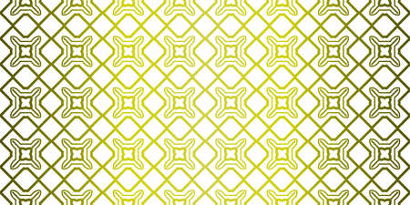 Illustration pour Yellow gradient Color Seamless Lace Pattern With Abstract Geometric. Stylish Fashion Design Background For Invitation Card. Illustration - image libre de droit