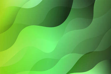 Illustration for Fantasy wavy dynamic background. Creative Vector illustration. For business wallpaper, cover book, print - Royalty Free Image