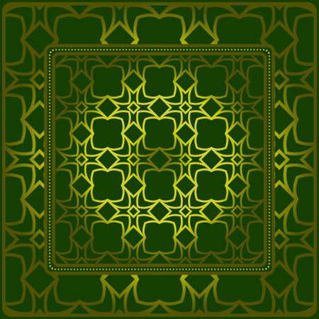 Illustration pour Geometric Pattern. Vector Illustration. Design For Wallpaper, Flyer, Book, Brochure. - image libre de droit