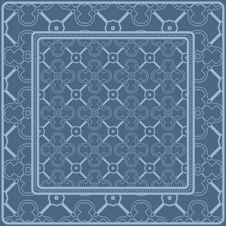 Illustration pour Geometric Pattern. Vector Illustration. Design For Wallpaper, Flyer, Book, Brochure. pastel blue color. - image libre de droit