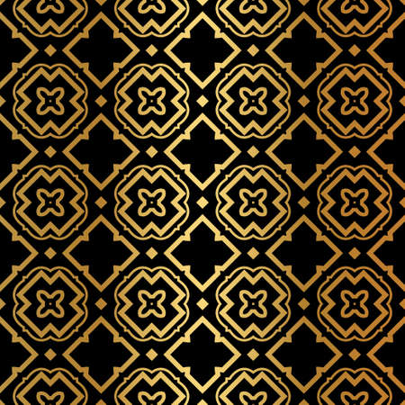 Luxury Pattern Of Abstract Geometric Seamless Vector