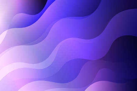 Illustration pour Abstract wavy dynamic background. Creative Vector illustration. For business wallpaper, cover book, print - image libre de droit