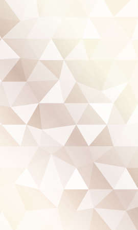 Illustration for Creative triangle pattern in polygonal style. Vector illustration. Pastel color. - Royalty Free Image