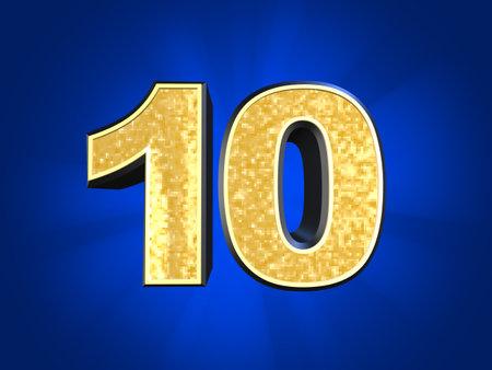 golden number 10