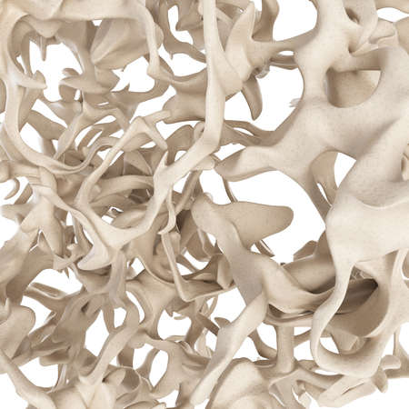 Photo for scientific illustration - osteoporosis bone structure - Royalty Free Image