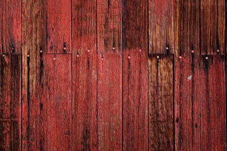 Foto für Old red barn in field late fall or autumn brown grass weathered wood - Lizenzfreies Bild