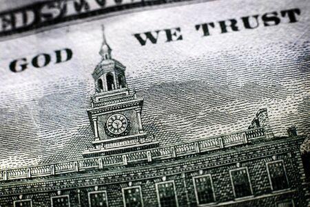 American Money In God We Trust Dollar Bill