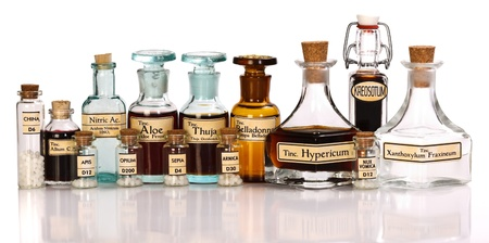 Various mother tincture plant extracts of homeopathic medicine