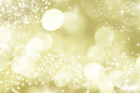 Photo pour Fireworks at New Year and copy space - image libre de droit