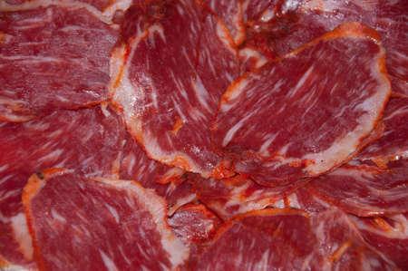 slices of Iberian pork loin