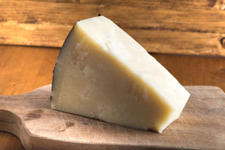 pecorino romano cheese made from sheep's milk,