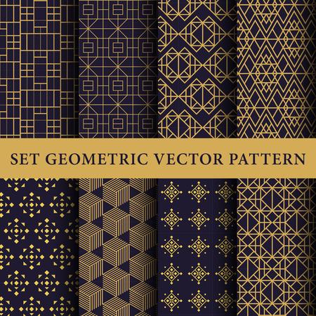 Illustration pour Luxury patterns pack - image libre de droit