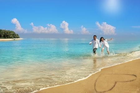 Foto de couple honeymoon - Imagen libre de derechos