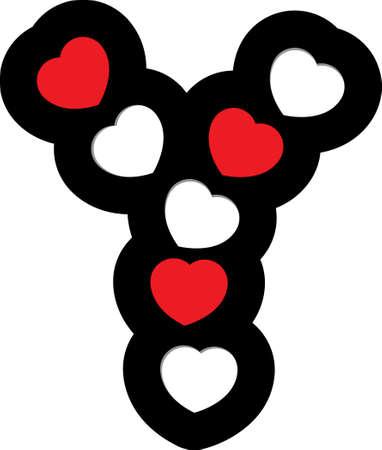 heart font type