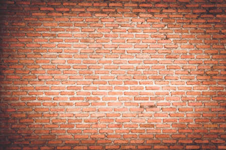 Photo pour empty room with red brick wall and wooden floor - image libre de droit