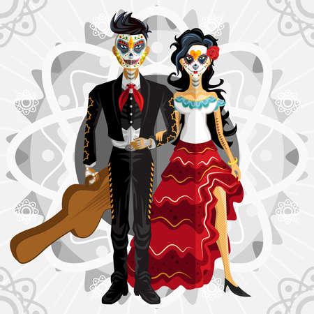 Dia De Los Muertos Day Of The Dead Bride