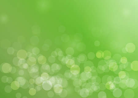 abstract soft green grass background with bokeh. vector illustration