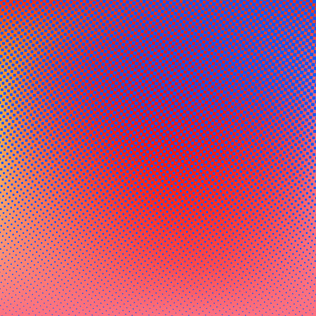 Illustration pour Halftone background. Red blue violet orange creative illustration - image libre de droit