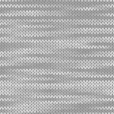 Illustration for Fabric seamless texture. Melange light gray color background. Vector illustration - Royalty Free Image