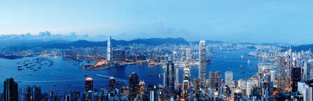 Foto de Hong Kong victoria harbour - Imagen libre de derechos
