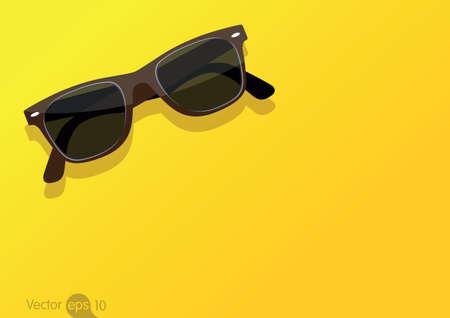 Illustration pour sunglasses - image libre de droit