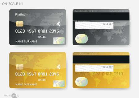 Illustration pour credit cards - image libre de droit