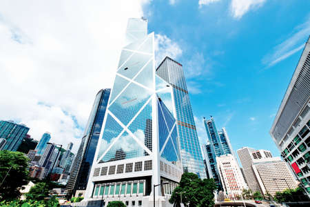 Foto per hong kong city - Immagine Royalty Free