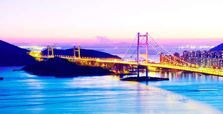 Tsing Ma Bridge, Hong Kong.