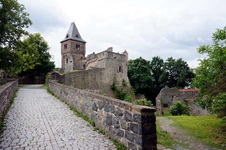 Frankenstein Castle, Mill Valley, Hesse, Germany, Lower Beersbach