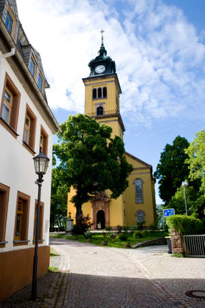 City church of St Peter, Saxony, Germany, Augustusburg