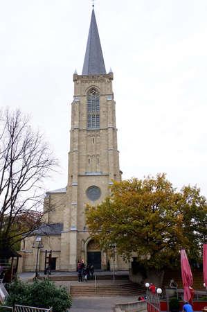 Parish Church of the Sacred Heart, Euskirchen, North Rhine-Westphalia, Germany
