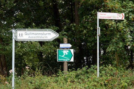 Quittmannsturm - Aussichtsturm im Sauerland, Neuerade, Nordrhein-Westfahlen, Deutschland
