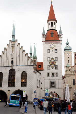 Old Town Hall and Talburgtor, Munich, Bavaria, Germany