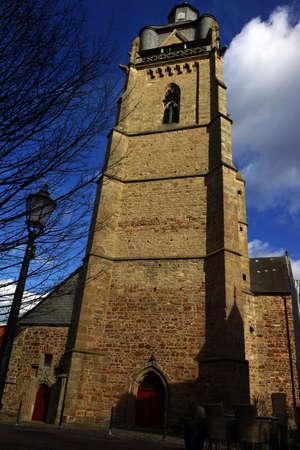 City Church of Saint Nicholas, Bad Wildungen, Hesse, Germany