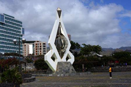 Sculpture of Csar Manrique, Santa Cruz de Tenerife, Tenerife, Canary Islands, Spain