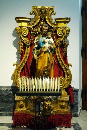 Foto per Chiesa della Sacra Famiglia, Marina di Carrara, Tuscany, Italy - Immagine Royalty Free