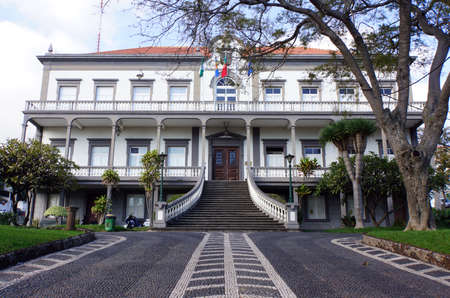 townhall, Santa Cruz, Madeira, Portugal